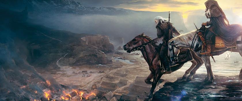 The Witcher 3 Wild Hunt вершина британского топа