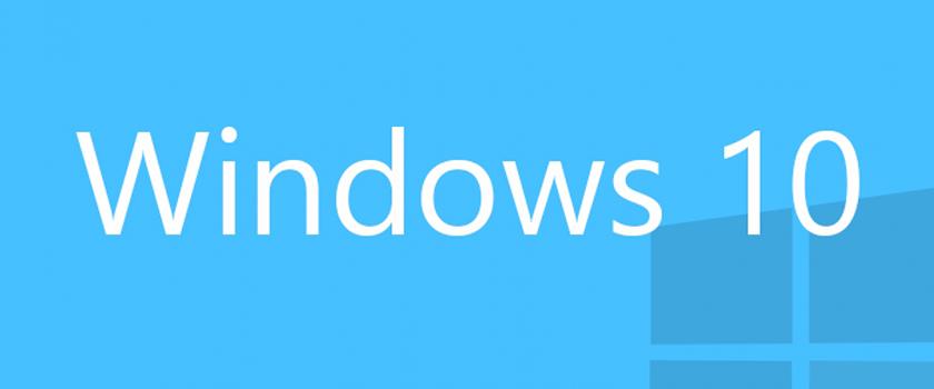 Выход Windows 10